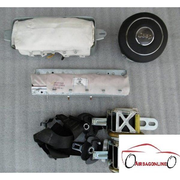 Jeep Grand Cherokee Complete Airbag Set Nieuw Type