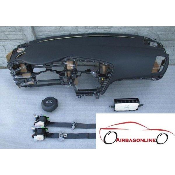 Kia Optima Complete Airbag Set Dashboard