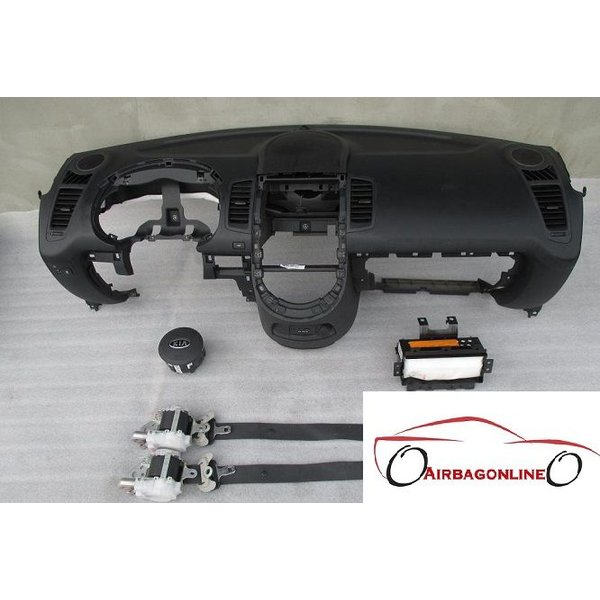 Kia Soul Complete Airbag Set Dashboard