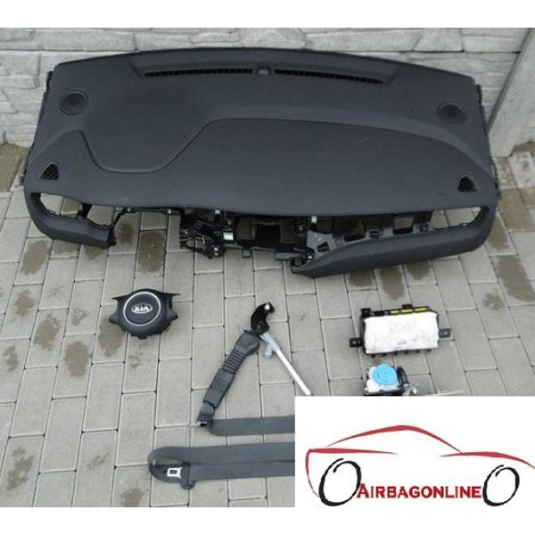 Kia Carens Complete Airbag Set Dashboard