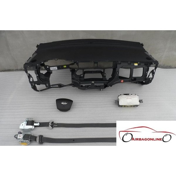 Kia Rio Complete Airbag Set Dashboard