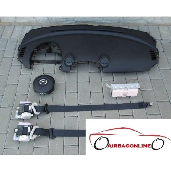 Mazda 2 Complete Airbag Set Dashboard