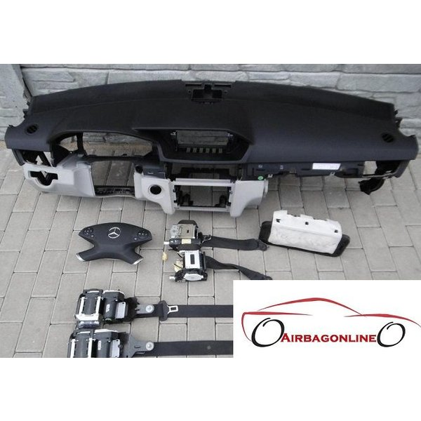 Mercedes E Klasse W212 Complete Airbag Set Dashboard