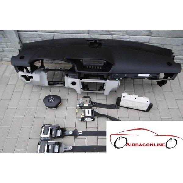 Mercedes E Klasse W212 Complete Airbag Set Dashboard Facelift
