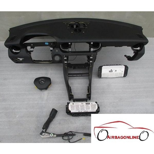 Mercedes SLK W172 Complete Airbag Set Dashboard