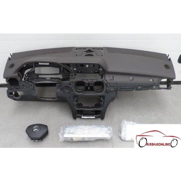 Mercedes GLK Complete Airbag Set Dashboard Bruin Facelift