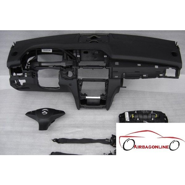 Mercedes GLK Complete Airbag Set Dashboard