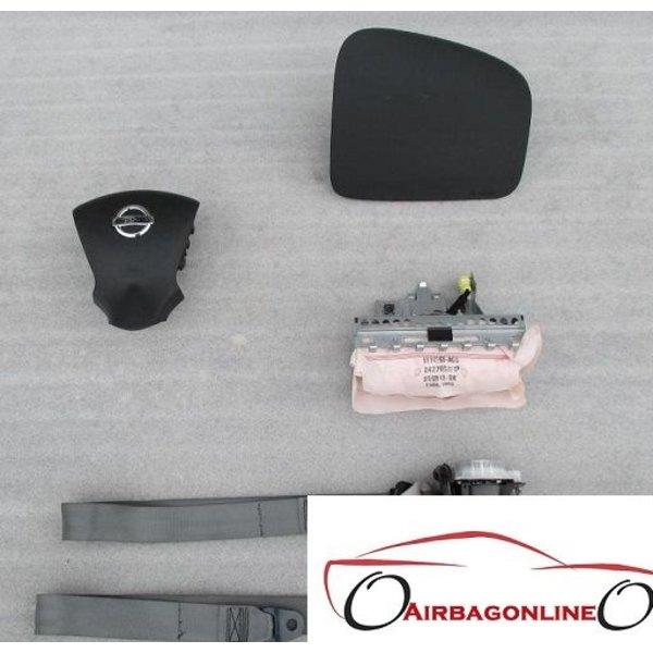 Nissan Note Complete Airbag Set Nieuw Model