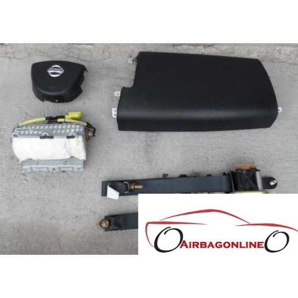 Nissan Murano Z50 Complete Airbag Set 2003 - 2008