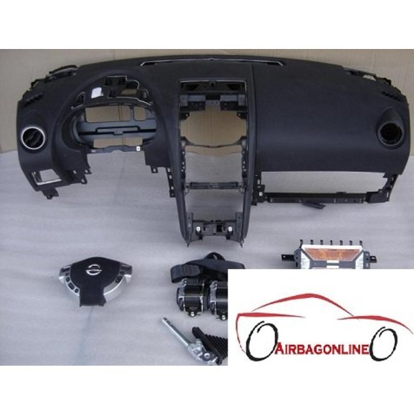 Nissan Qashqai Complete Airbag Set Dashboard 2008-2013