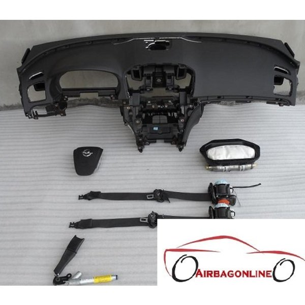 Opel Insignia Complete Airbag Set Dashboard