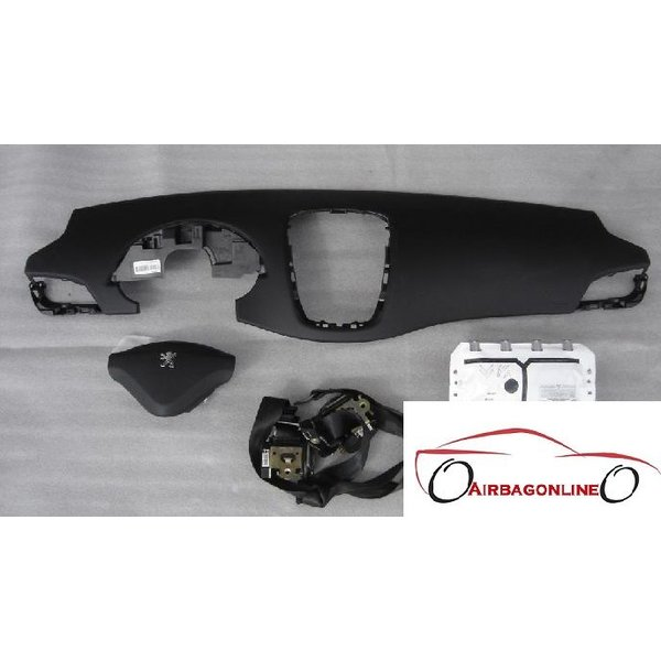 Peuegot 207 Complete Airbag Set Dashboard
