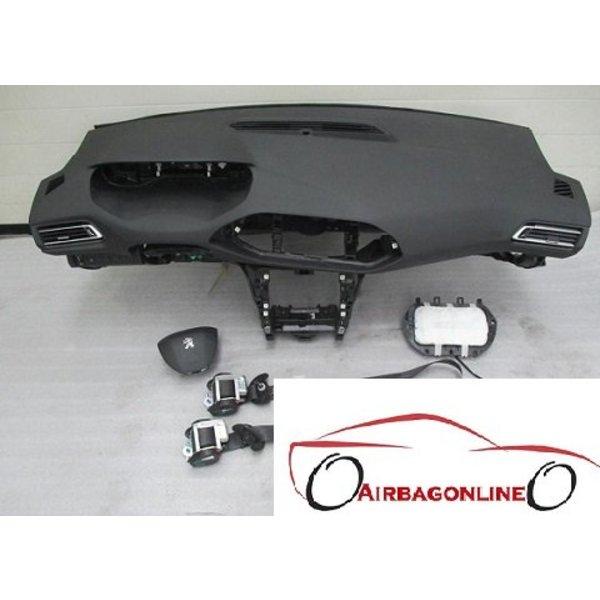 Peuegot 308 Complete Airbag Set Dashboard 2015 - heden