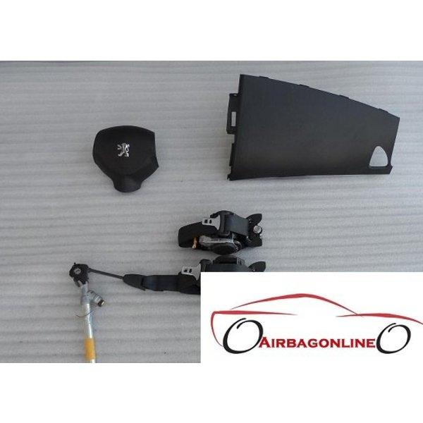 Peuegot 4007 Complete Airbag Set Dashboard Kap
