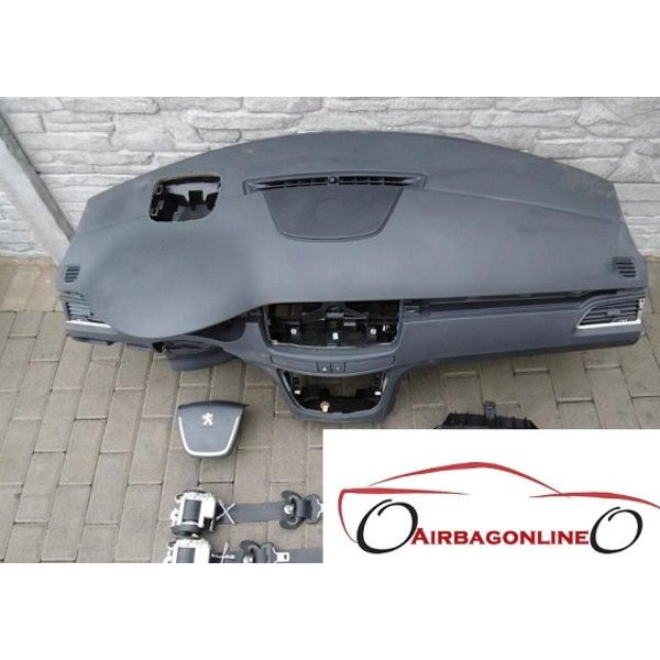 Peuegot 508 Complete Airbag Set Dashboard Met Head Up
