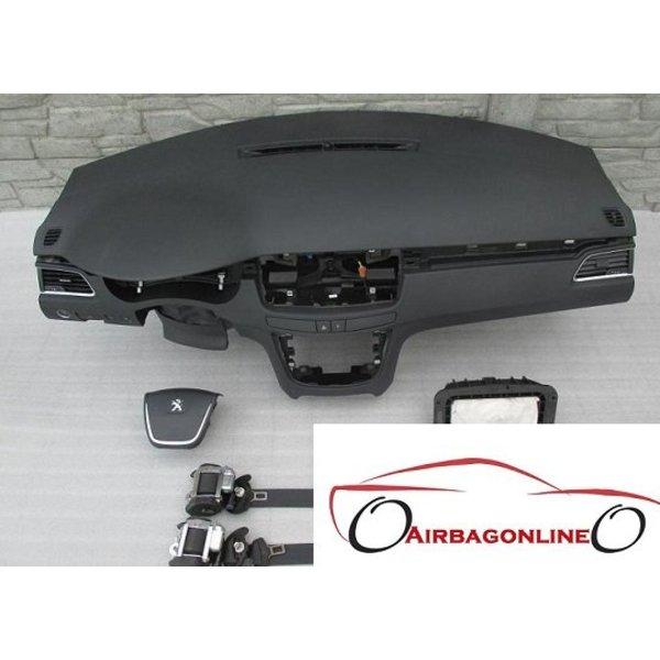 Peuegot 508 Complete Airbag Set Dashboard