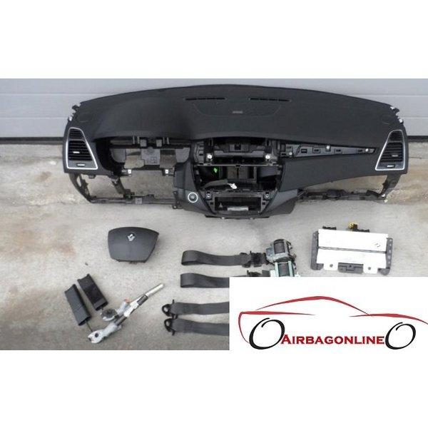 Renault Laguna 3 Complete Airbag Set Dashboard