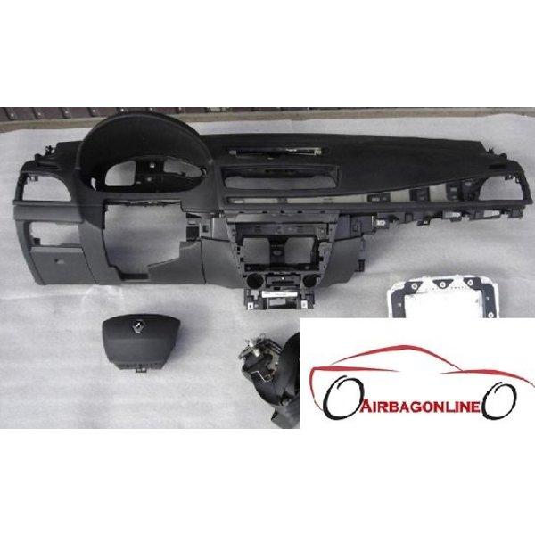 Renault Megane 3 Complete Airbag Set Dashboard