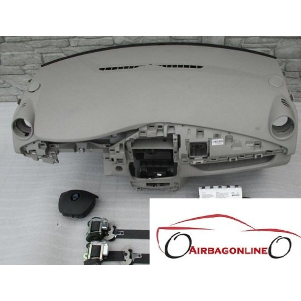 Renault ZOE Complete Airbag Set Dashboard