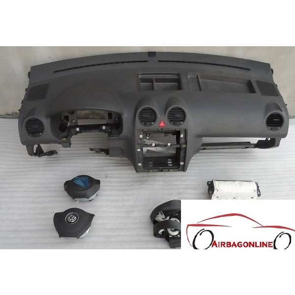 VW Caddy Complete Airbag Set Dashboard 2007 - 2015
