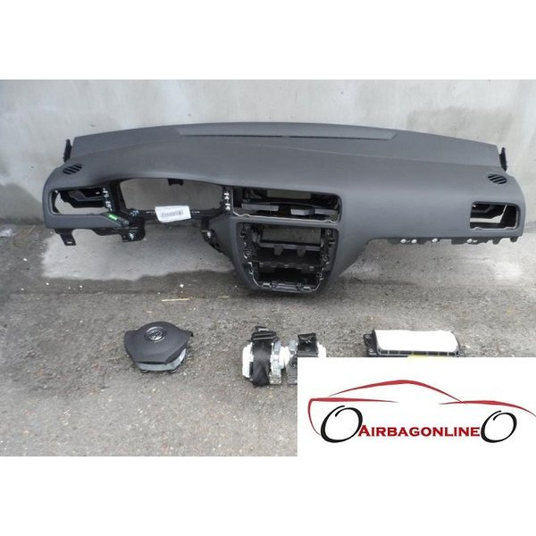 VW Jetta Complete Airbag Set Dashboard Nieuw Model