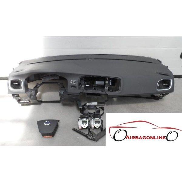 Volvo V60 Complete Airbag Set Dashboard