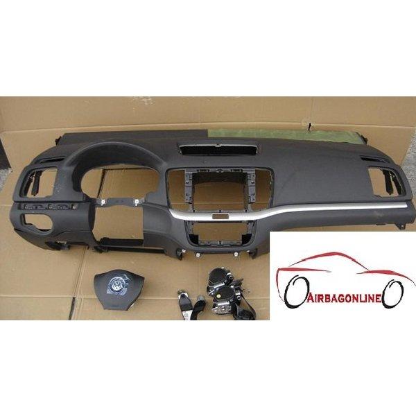 VW Sharan 7N Complete Airbag Set Dashboard