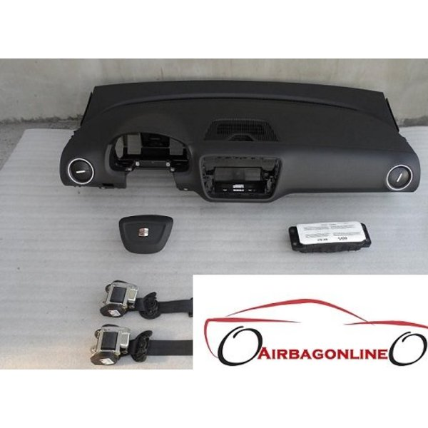 Seat Mii complete dashboard airbag set