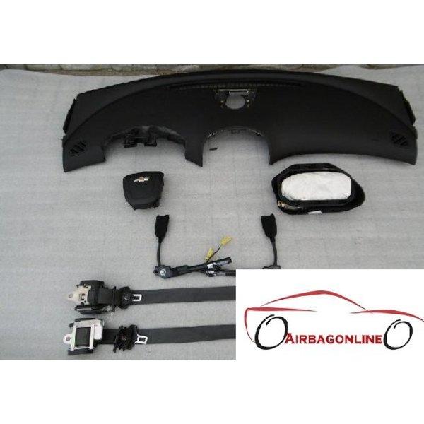 Chevrolet Malibu Complete Airbag Set Dashboard
