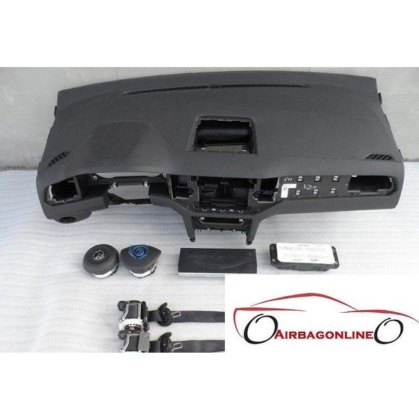 VW Golf 7 Sportsvan Complete Airbag Set Dashboard