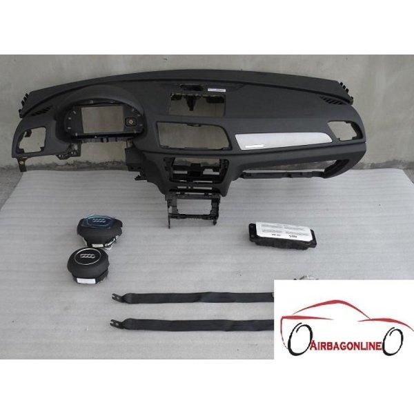 Audi Q3 Complete Airbag Set Dashboard Zwart