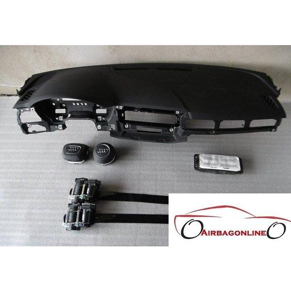 Audi A4 8W B9 Complete Airbag Set Dashboard