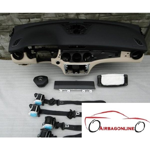 Mercedes CLA W117 complete airbag set dashboard