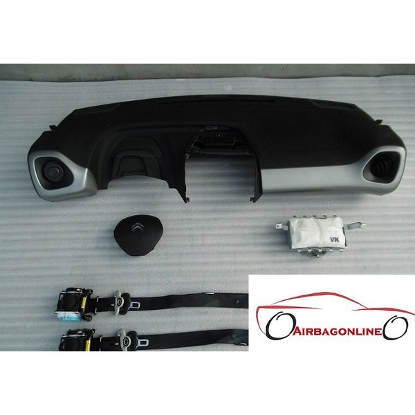 Citroen C1 II Complete Airbag Set Dashboard