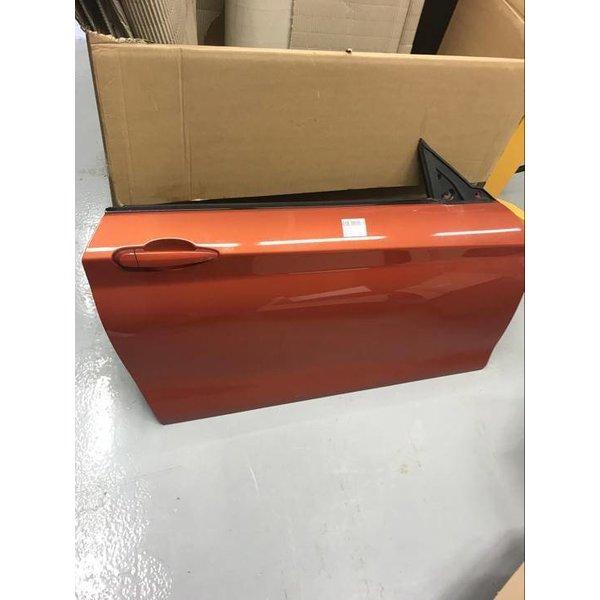 1er Rechter Portier Met Raam Valencia Orange Metallic
