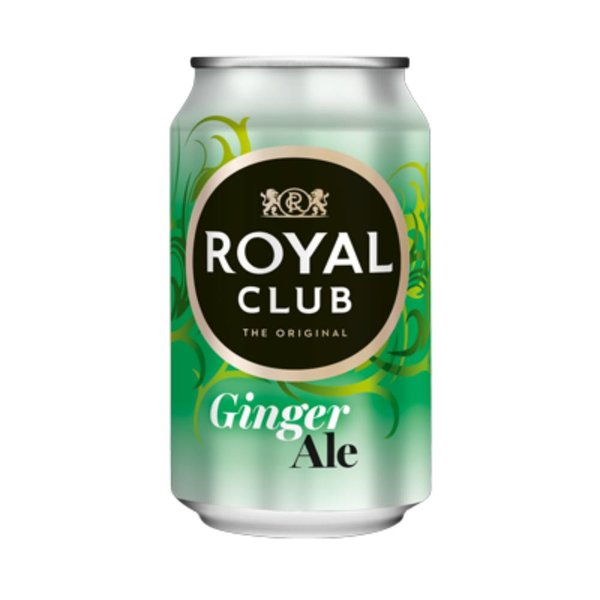 Smaakidee Ginger Ale Blik 33cl