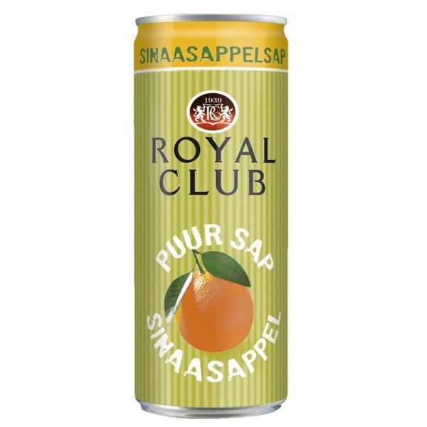 Smaakidee Sinaasappelsap Blik 25cl
