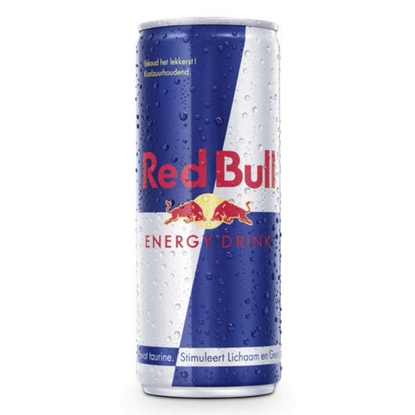 Smaakidee Red Bull Blik 25cl