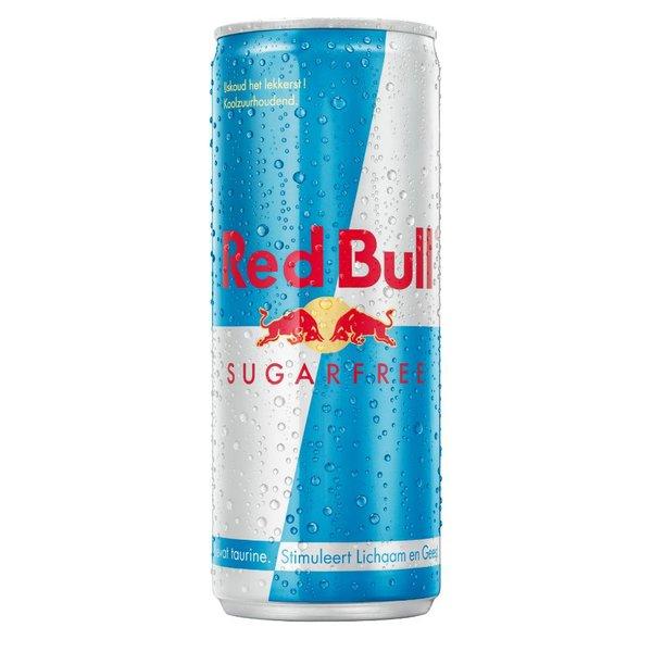 Smaakidee Red Bull Sugar Free Blik 25cl