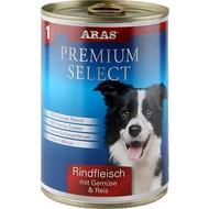 Aras Premium natuurlijke hondenvoeding Select 410 gr