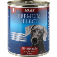 Aras Premium natuurlijke hondenvoeding Select 820 gr