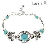 Vintage Bohemian Style Butterfly Turquoise Bracelet