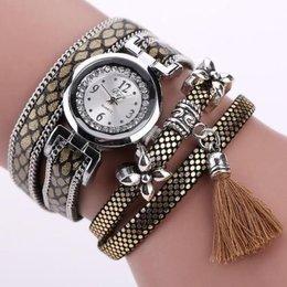Horloges Armband lovertjes kwastje Casual Analog