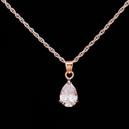 Modieuze sieraden set goud kleur met zirkonia