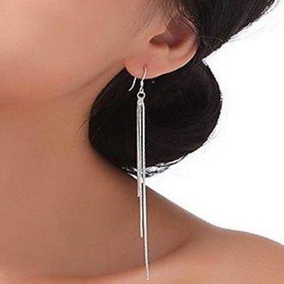 Sterling zilver druppel oorbellen
