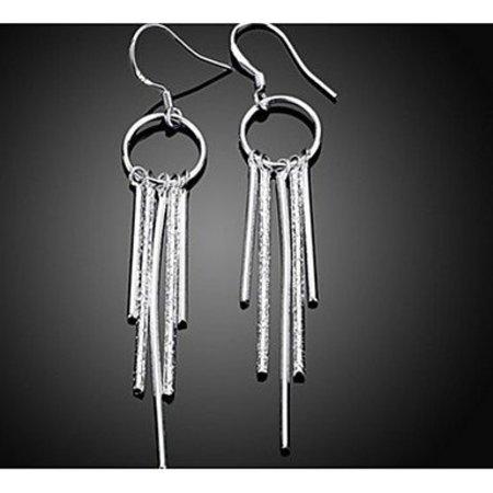 Elegante druppel oorbellen van sterling zilver dames sieraden