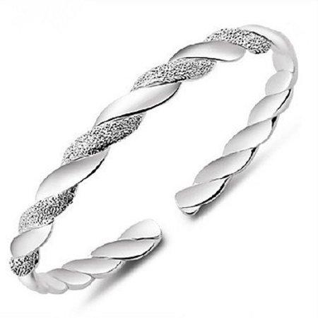 Sterling Zilver manchet armband