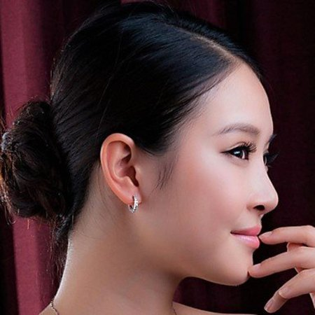 Modieuze druppel oorbellen sterling zilver