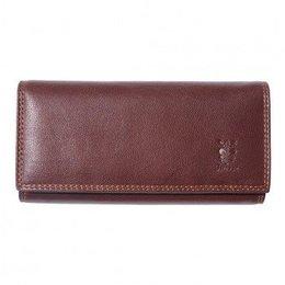 Zacht kalf leder portemonnee bruin kleur