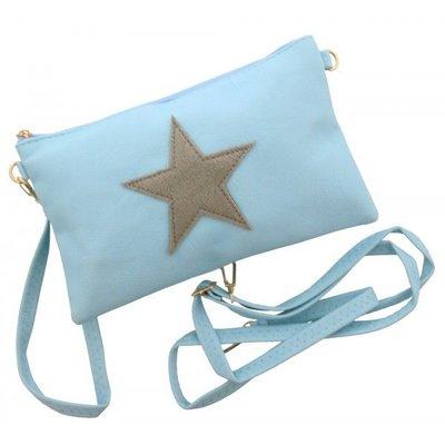 Trendy schouder tasje met ster voor dames en meisjes